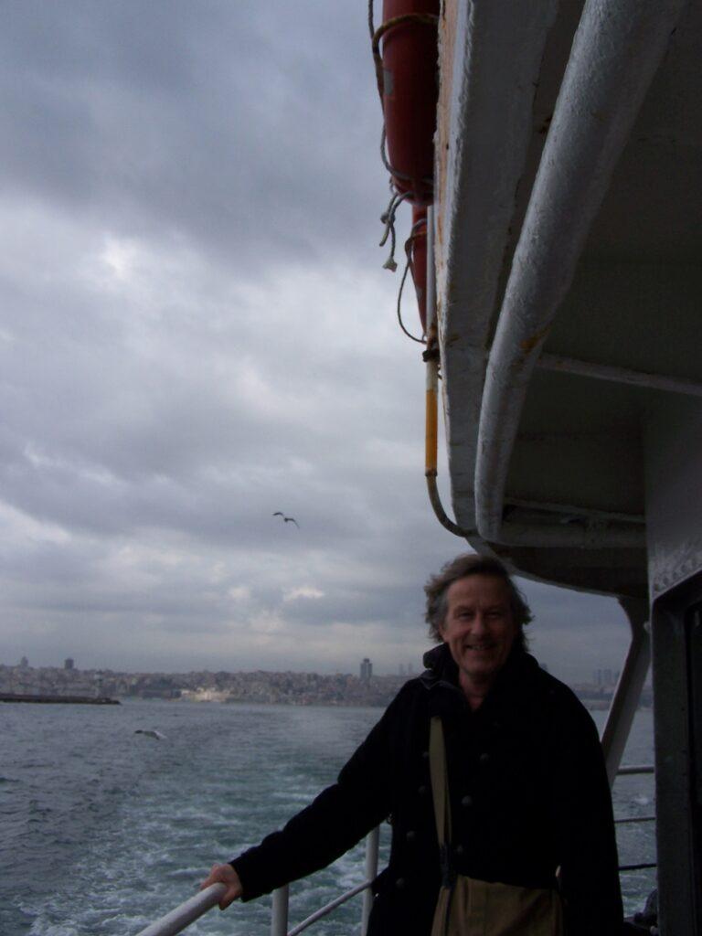 Op de boot van Europees naar Aziatisch Istanbul.